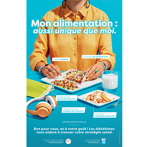 Nutrition Month Poster - French