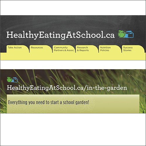 Healthy Eating at School Bookmark